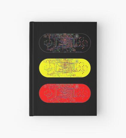 Arduino Esplora Reference Design Sticker Hardcover Journal