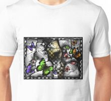Fragmented Reasons of air  Unisex T-Shirt