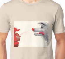 The wolf and the Little Red Riding Hood Unisex T-Shirt