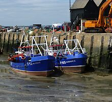 Whitstable Harbour England by Tommy Wright