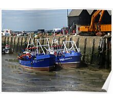 Whitstable Harbour England Poster