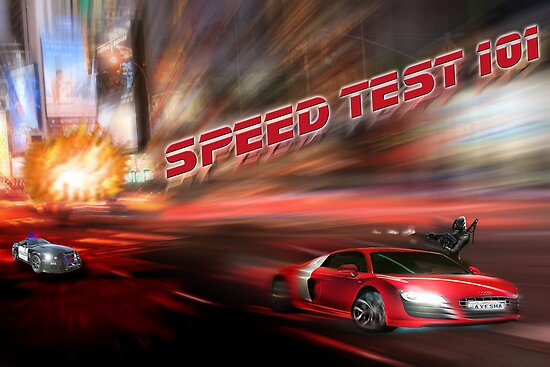 speed tests by Shizune V