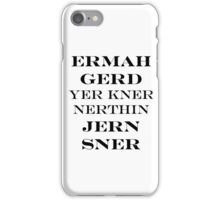 Ermahgerd Jon Snow - Game of Thrones iPhone Case/Skin