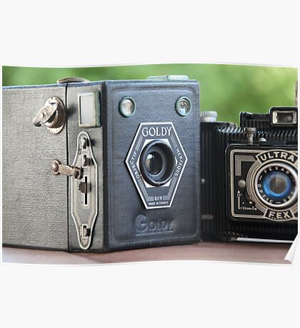 Painting with Light.....vintage cameras  Poster