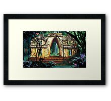 Temple of the Waters Framed Print