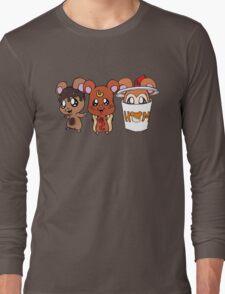 Food Hamsters Long Sleeve T-Shirt