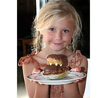 Patty's Cake Photographic Print