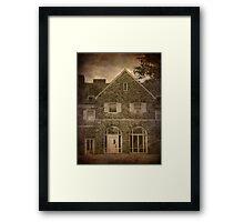 Hayfield House (East End) Framed Print