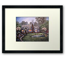 A Place in the Country Framed Print