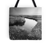 Mirror Mirror on the Marsh BW Tote Bag