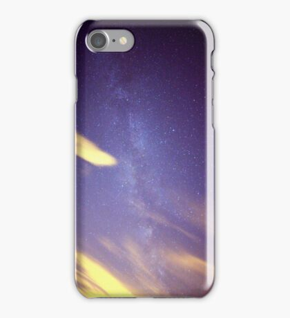 Cloudy with a Chance of Milky Way iPhone Case/Skin
