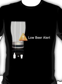 Low Beer Alert T-Shirt