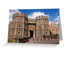 Windor Castle Greeting Card