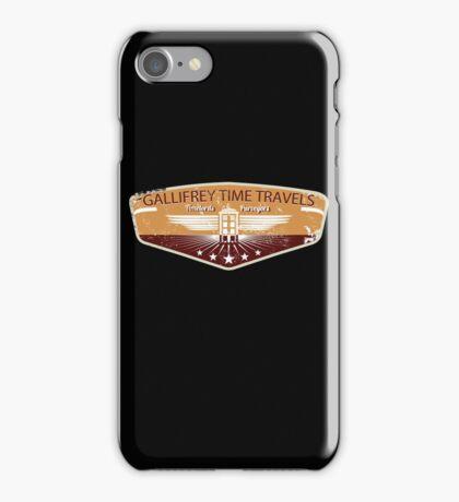 GALLIFREY TIME TRAVELS iPhone Case/Skin