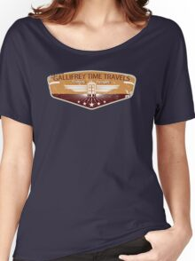 GALLIFREY TIME TRAVELS Women's Relaxed Fit T-Shirt