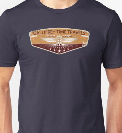 GALLIFREY TIME TRAVELS Unisex T-Shirt