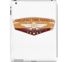 GALLIFREY TIME TRAVELS iPad Case/Skin
