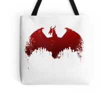 Dragon II Grunge Tote Bag