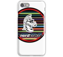 Nerdherder Tri-color iPhone Case/Skin