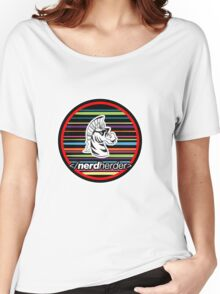 Nerdherder Tri-color Women's Relaxed Fit T-Shirt