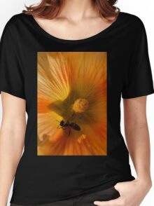 Flower in Close Up Women's Relaxed Fit T-Shirt