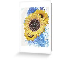 Sunflower Dreamcatcher Greeting Card