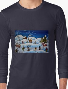 Christmas night Long Sleeve T-Shirt