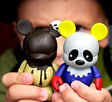 Vinylmation as Celebrated by a 5 Year Old by Joe Randeen