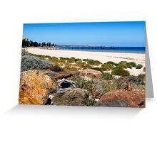An Australian Beach Greeting Card