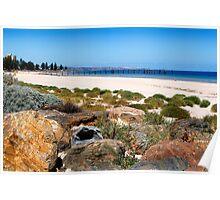 An Australian Beach Poster