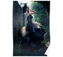 The Bin Bag Dress - Fashion Shoot Poster