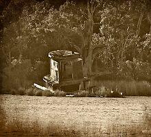 The Old Abandoned Tug Boat by imagetj