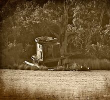 The Old Abandoned Tug Boat by Photography by TJ Baccari