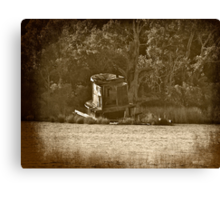 The Old Abandoned Tug Boat Canvas Print