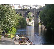The River Nidd, Knaresborough Photographic Print