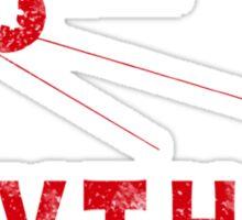 Sputnik Red Sticker