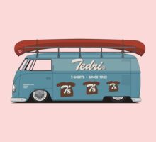 Slammed VW Barndoor (Full sign writing) by Tedri