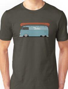 Slammed VW Barndoor (Half sign writing) Unisex T-Shirt
