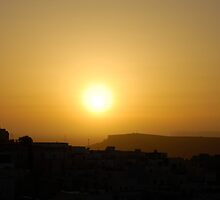 Mellieha Sunset by winkywoman