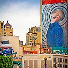 Colorful Detroit View by Kathy Nairn