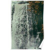 vermillion falls.  Poster