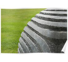 Peter Randall-Page sculpture at Wakehurst Place Poster