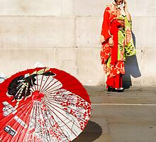 London meets Japan by Monjii