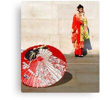 London meets Japan Canvas Print