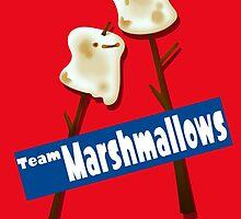Splatfest Team Marshmallows v.2 by KumoriDragon