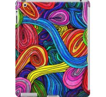Psychedelic Lines iPad Case/Skin