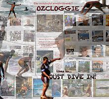 Dive into the wonderful worldwide web!!!!   by Ozcloggie