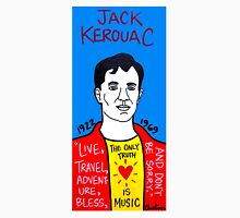 Jack Kerouac Pop Folk Art Unisex T-Shirt