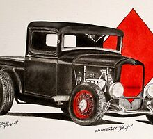 1932 Ford rat rod pick up truck by ford1946