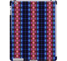 Beams of Light (blue-red) iPad Case/Skin